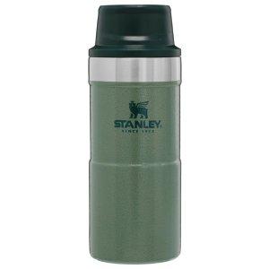 经典军绿色Stanley Classic Trigger-Action 355ml保温壶