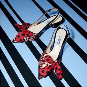 低至6折Prada 经典女士手袋,美美蝴蝶结鞋等热卖