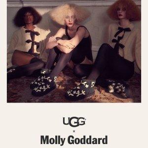 收俏皮仙女鞋Ugg X Molly Goddard 限量合作款美鞋上新
