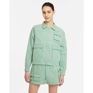 Nike抹茶绿工装夹克
