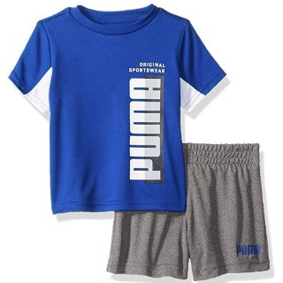 $4.3 Add-on ItemPUMA Baby Boys' T-Shirt & Short Set 3-6 month