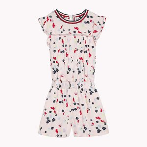 Tommy女童花朵连身衣