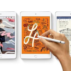 折后€399起 颜色配置齐全Apple iPad mini 5热卖 搭载A12处理器 支持Apple Pencil
