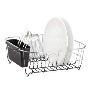 $15.99(原价$29.99)Neat-O 不锈钢厨房沥水架 碗筷水杯晾干架