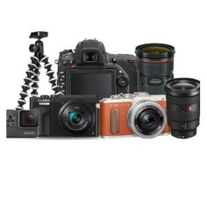 额外8折 低至$75Camerastore官方 摄影装备好价热卖