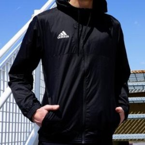 adidas Men's Essentials Hooded Wind Jacket