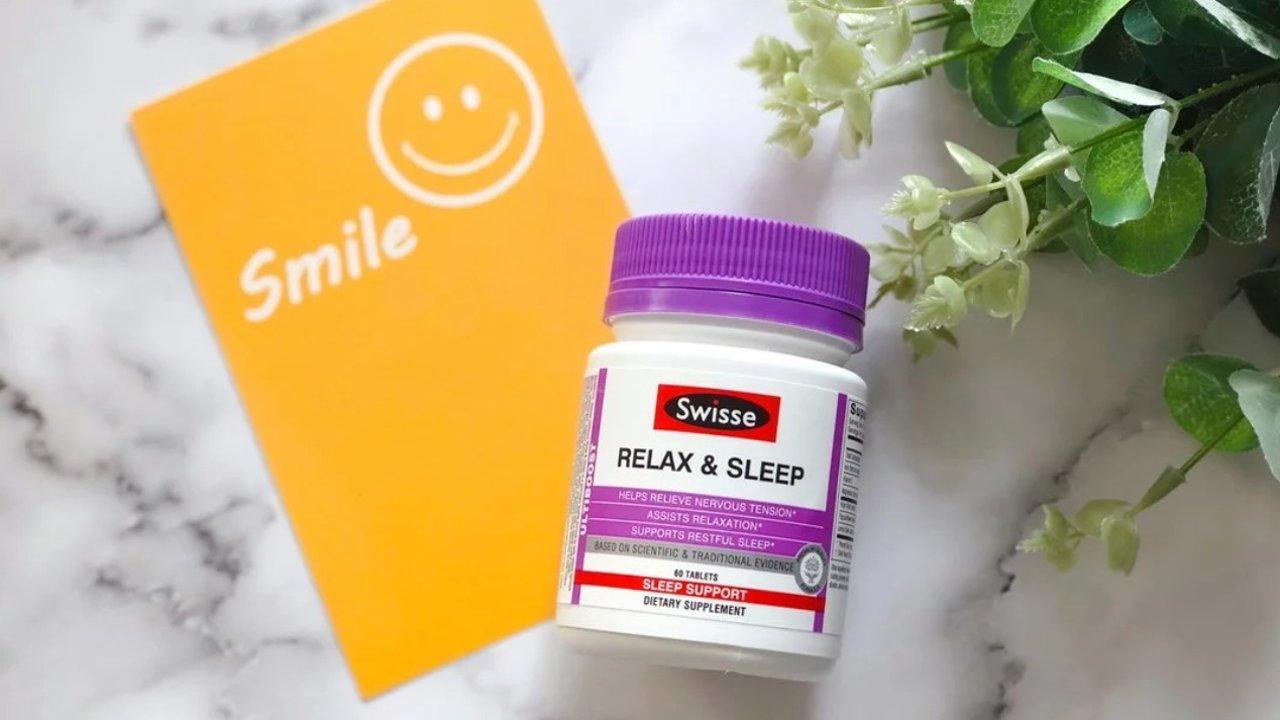Swisse天然草本放松睡眠片,让你和失眠问题从此说拜拜!