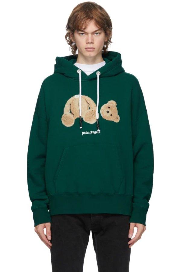 Green Bear 断头熊卫衣
