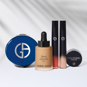 低至8.5折+定价优势提前享:Giorgio Armani 护肤美妆产品热卖 收小金条、羽毛粉底