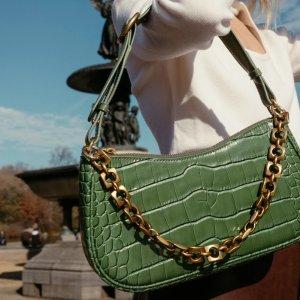 Parisa WangCharmed珍爱法棍包 - 橄榄绿色
