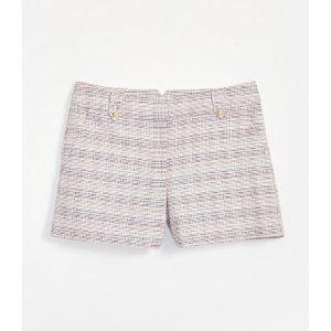LOFTButton Tab Riviera Shorts with 4 Inch Inseam   LOFT