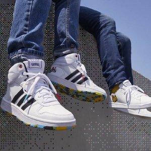 AdidasHoops Mid 2.0 中帮大童女鞋