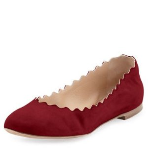 $252Chloe 女士花瓣鞋热卖
