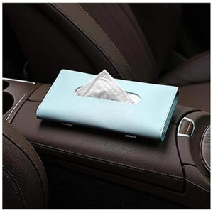白菜价:Carstuus 皮质车载口罩夹/纸抽夹