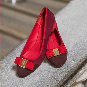 低至7折+包邮 平底鞋$346起Salvatore Ferragamo官网 年末大促开启
