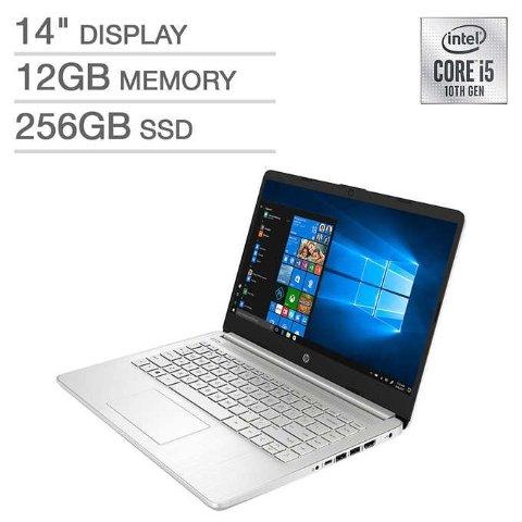 HP 14 Laptop (i5-1035G1, 12GB, 256GB)