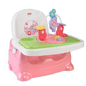 $24.99 (原价$32.24)  美亚销量冠军史低价:Fisher-Price 大象餐椅玩具椅 粉色