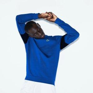LacosteMen's SPORT Colorblock Fleece Tennis Sweatshirt