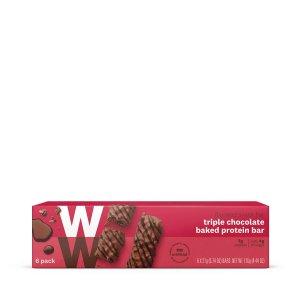 三重巧克力蛋白棒
