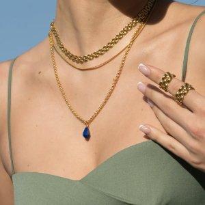 低至£50上新:Monica Vinader Doina 系列 宝石、珍珠 高级质感饰品