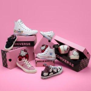 额外8折Converse 鞋服折上折热卖 收Hello kitty合作款