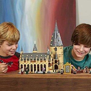 $99.99包邮LEGO 哈利波特霍格沃茨大礼堂75954 开启你的魔法拼搭旅程