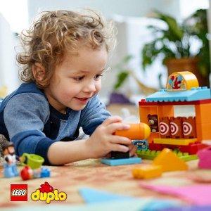 低至$3.99LEGO Duplo 德宝系列拼搭玩具,2-5岁宝宝的安心玩具