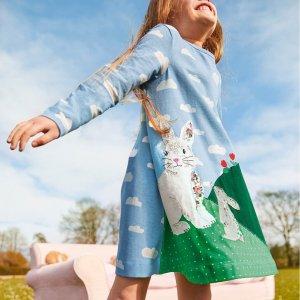 促销区低至4折 收哈利波特Mini Boden童装官网 儿童美衣上新,享8.5折