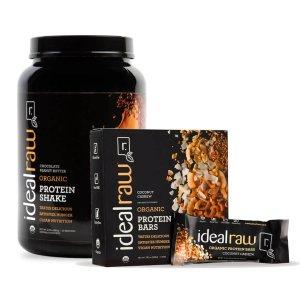 IdealRawOrganic Protein + Bars