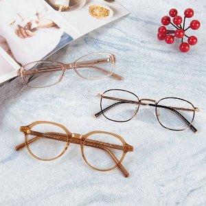 全单享6折 无需处方独家:GlassesShop 时尚眼镜劳动节大促 镜框镜片都参加