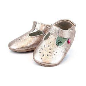 ZutanoRose Gold Leather Mary Jane Shoe
