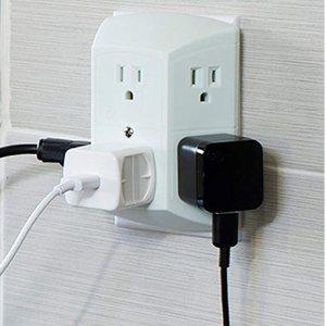 现价$7.28白菜价:GE 6口插座  方便实用  家居、办公必备