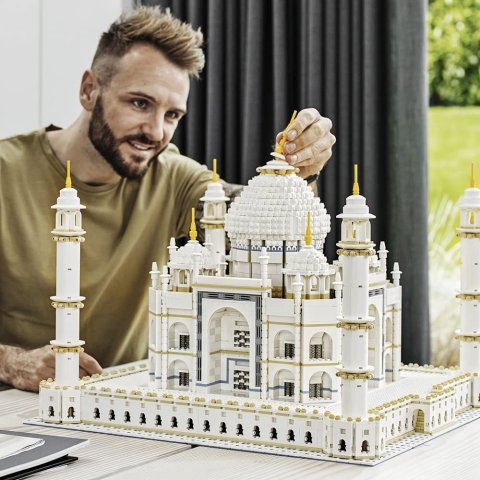 $369.99LEGO Creator Expert Taj Mahal 10256 Building Kit and Architecture Model, Perfect Set for Older Kids and Adults
