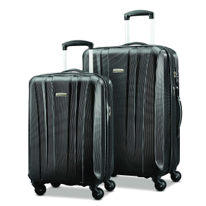 跌至¥1093,税费低史低价:Samsonite PULSE DLX 轻质行李箱2件套 20寸+28寸