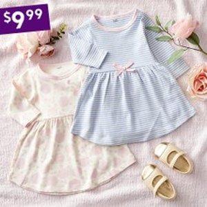 全部$9.99 好价回归Zulily 女婴幼童连衣裙特卖 一次买两件,超划算