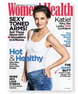 4年48期只要$12男士、女士运动健康杂志订阅 开启正确运动瘦身模式