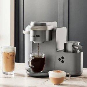 任意咖啡机5折 封面款$109Keurig 胶囊咖啡机和胶囊特价 买咖啡机就送2盒免费胶囊