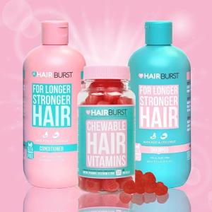独家满£80享7.5折折扣升级:Hairburst 防脱发、促生发产品全线产品热卖