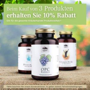 仅售€15.95 增强提高免疫力Kräuterhandel Sankt Anton OPC葡萄籽提取物胶囊 120粒装