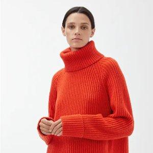 全场9折 简约大毛衣£49 厚外套£62 修身风衣£80上新:Arket 惊现无门槛好折 优雅高级美 速收秋冬新装毛衣、大衣、羽绒服等