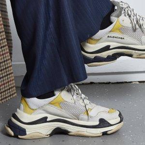 全场7.8折,老爹鞋三色可选11.11大促:Balenciaga 潮鞋潮包火热抢购中