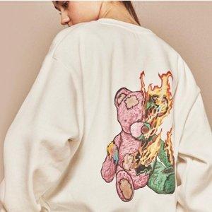2.5折起 猫和老鼠T仅€52上新:W Concept 卫衣专场 最火设计全参与!笑脸、猫和老鼠、暴力熊全上线