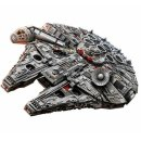 $974 (原价$1299)7541片史低价:Lego乐高 Star Wars星站75192 千年猎鹰