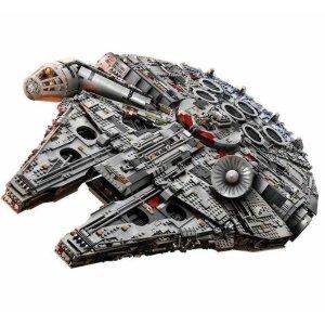 $1039(原价$1299)7541片Lego乐高 Star Wars星站75192 千年猎鹰