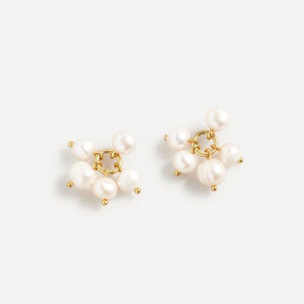 淡水珍珠耳环