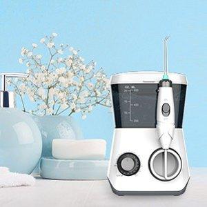 $37.99包邮(原价$49.99)史低价:Kaiser 600ml FDA认证 电动冲牙器、水牙线