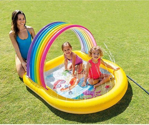 彩虹户外玩水池