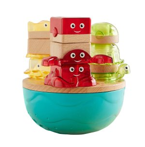 Fisher-Price® Wooden Toys Deep Blue Sea Stacker