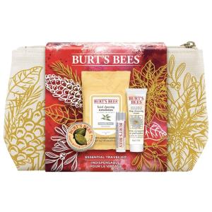 $8.54(原价$14.99)Burt's Bees 旅行必备套组 外出旅行护肤靠它就够啦
