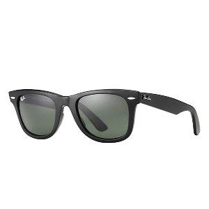 Ray-Ban购买两副,第二副(系统自动选取价格更低的)打8折Wayfarer经典系列墨镜